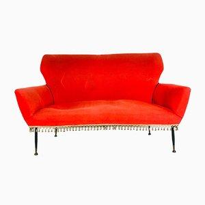 Italienisches Mid-Century 2-Sitzer Sofa, 1950er