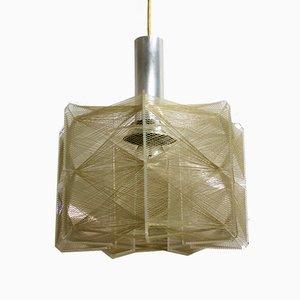 Lampada a sospensione vintage di Paul Secon per Sompex, anni '60