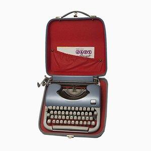 Mid-Century Beaucourt Script Schreibmaschine von Japy