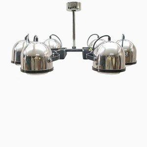 Orbital Chrome Ceiling Lamp, 1970s