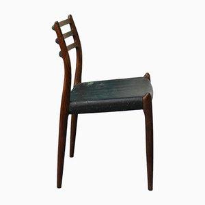 Chaise de Salle à Manger Modèle 78 par Niels O. Møller pour J.L. Møllers, 1960s