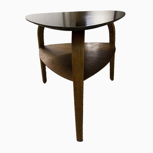 Table Basse Bow Wood par Hugues Steiner pour Baumann, 1960s