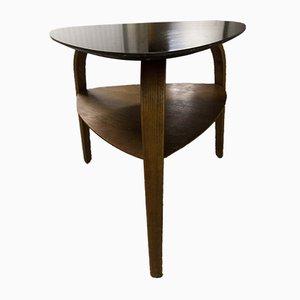 Tavolino da caffè in legno curvato di Hugues Steiner per Baumann, anni '60