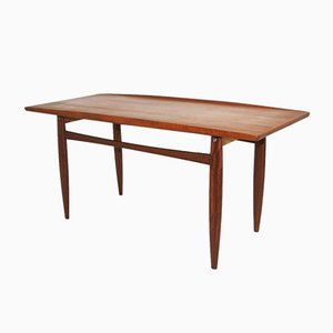 Tavolino da caffè vintage in teak di Grete Jalk per Poul Jeppesen Møbelfabrik