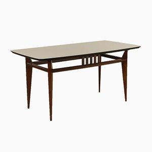 Italian Beech & Formica Table, 1960s