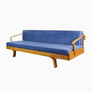 Convertible Couch by Ludvik Volak for Drevopodnik Holesov, 1971