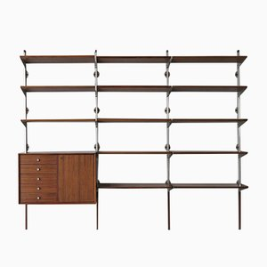 Wall Unit in Rosewood by George Nelson for Herman Miller, 1950s