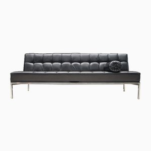 Leather Constanze Sofa or Daybed by Johannes Spalt for Wittmann, 1960s