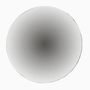 Kleiner runder versilberter Orbis Spiegel ohne Rahmen von Alguacil & Perkoff