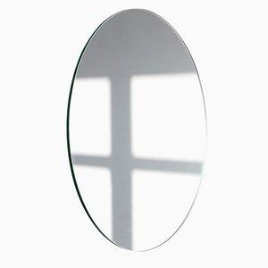 Très Grand Miroir Rond Sans Cadre Argenté Orbis par Alguacil & Perkoff