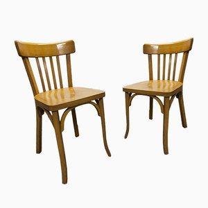 Chaises de Bistrot Mid-Century de Baumann, Set de 2