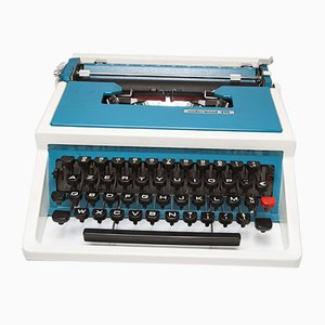Máquina de escribir portátil 315 de Underwood, años 70