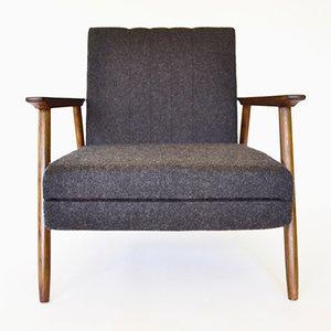 Vintage Convertible Armchair by V. E. Cukermanienė for Vilniaus Baldų Kombinatas, 1964