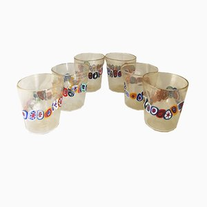 Water Glasses from Italian Light Design, Set of 6