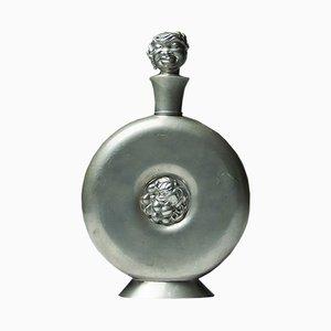 Schwedische Vintage Zinnkaraffe von Carl Einar Borgström für Ystad Metall, 1930er