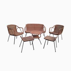 Juego de sillones vintage, años 60