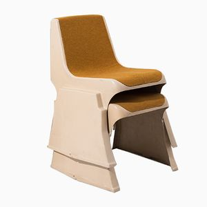 Vintage Stackable Chair by Günther Domenig, 1968