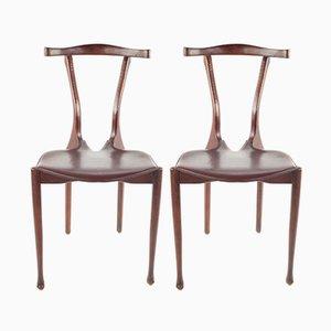 Vintage Esszimmerstühle von Oscar Tusquets für Carlos Jané, 1987, 2er Set