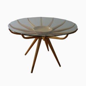Tavolino da caffè vintage di Carlo de Carli, anni '50
