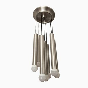 Vintage Aluminium Ceiling Light, 1960s