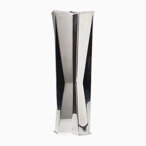 Vintage Vase aus Silber von Tapio Wirkkala für Hopeakeskus Tavestehus, 1975