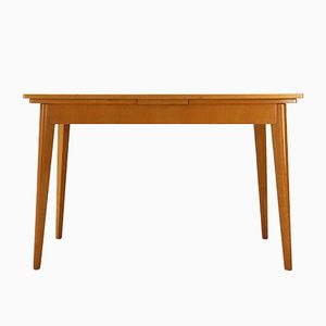 Mid-Century Cherry Extendable Dining Table, 1950s
