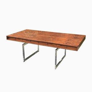 Vintage Pau Ferro Rosewood 4-Drawer Desk by Bodil Kjær
