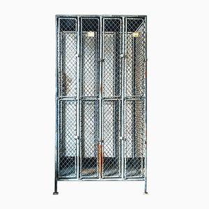 Industrial Steel Locker, 1950s