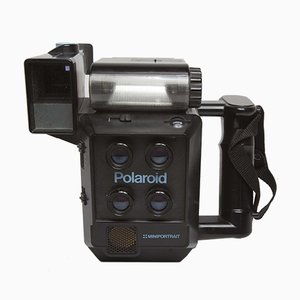 Vintage Miniportrait Polaroid Camera, 1989