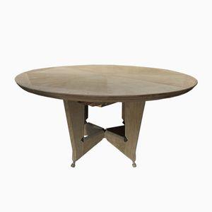 Table de Salle à Manger Vintage Extensible par Guillerme et Chambron pour Votre Maison, France