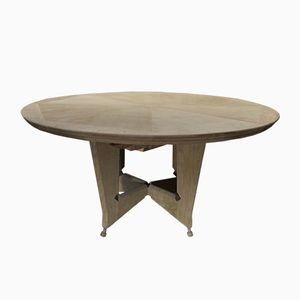 Vintage French Extendable Dining Table by Guillerme et Chambron for Votre Maison