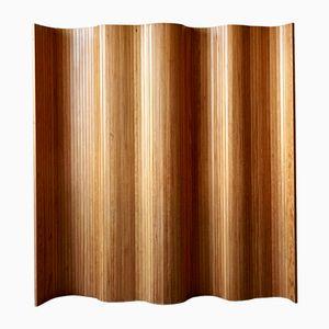 Paravento vintage in legno chiaro di Habitat