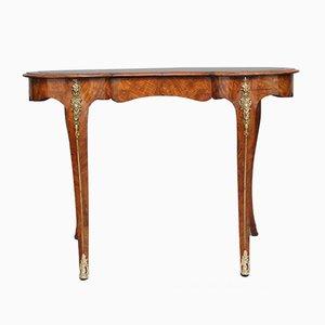Antiker Schreibtisch aus Nussholzwurzel