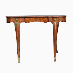 Antique Burr Walnut Writing Table