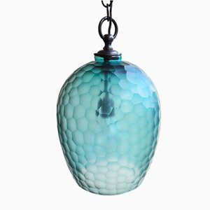 Honeycomb Pendant Lantern by Rose Uniacke
