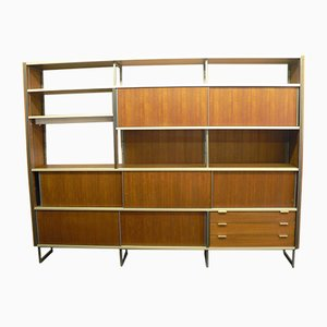 Vintage Teak Modular Shelving Unit by Georges Frydman for EFA