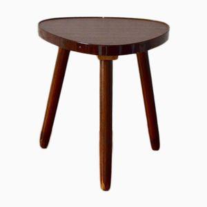 Tavolino vintage tripode in formica