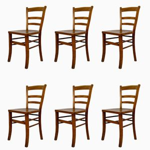 Antique Tavern Chairs, 1900s, Set of 6