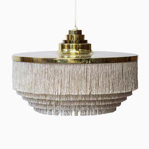 Lampada da soffitto vintage con frange di Hans-Agne Jakobsson per Hans-Agne Jakobsson AB Markaryd