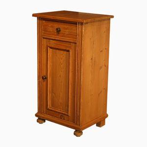 Small Antique Softwood Nightstand