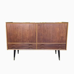 Vintage Swedish Teak Sideboard, 1960s
