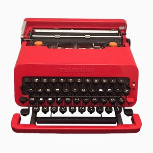 Valentine Typewriter by Ettore Sottsass for Olivetti Synthesis, 1969