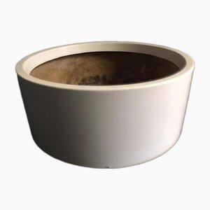Vaso vintage cilindrico di Knoll, anni '70