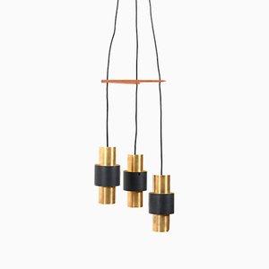 Lámpara Tunika Pendulum vintage de Jo Hammerborg para Fog & Morup
