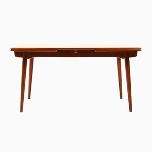 Tavolo da pranzo AT 312 in teak di Hans J. Wegner per Andreas Tuck, anni '60