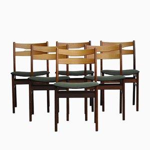 Dänische Esszimmerstühle von Faldsled Stole & Møbelfabrik, 1970er, 6er Set