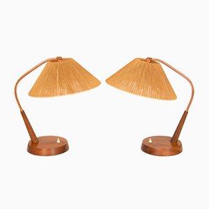 Lámparas de mesa Mid-Century. Juego de 2