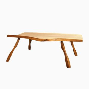 Tavolino da caffè vintage in legno, anni '60