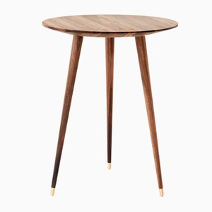 Walnut Side Table by Livius Haerer for STUDIOLIVIUS