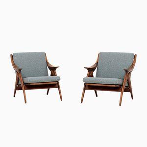 Knot Sessel von De Ster Gelderland, 1960er, 2er Set